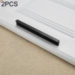 2 PCS 2057-300 Drawer Cabinet Door Handle Straight Door Handle (Black)