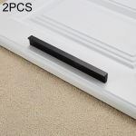 2 PCS 2057-500 Drawer Cabinet Door Handle Straight Door Handle (Black)