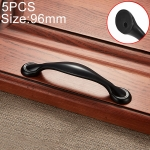5 PCS 6591-96 Simple Archaistic Zinc Alloy Handle for Cabinet Wardrobe Drawer Door, Hole Spacing: 96mm