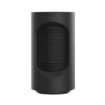 Mini Household Office Shaking Head Desktop Radiator Warmer Electric Heater Warm Air Blower (Black)