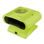 Mini Shaking Head Radiator Warmer Electric Heater Warm Air Blower (Green)
