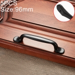 5 PCS 6226-96 Simple Archaistic Zinc Alloy Handle for Cabinet Wardrobe Drawer Door, Hole Spacing: 96mm