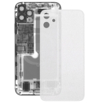 Transparent Frosted Battery Back Cover for iPhone 11(Transparent)