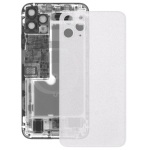 Transparent Frosted Battery Back Cover for iPhone 11 Pro(Transparent)