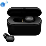 Z3X Bluetooth 5.0 Wireless Bluetooth Earphone with Charging Box, support HD Call & Mobile Phone Display Battery & Power Bank(Black)