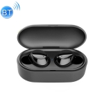 X9S TWS Bluetooth V5.0 Stereo Wireless Earphones with LED Charging Box (Black)
