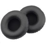 For JBL Synchros S400BT Headphones Imitation Leather + Memory Foam Soft Earphone Protective Cover Earmuffs, One Pair (Black)