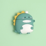 For Airpods Cartoon Selling Cute Little Dinosaurs Shape Earphone Silicone Protective Case with Hook