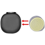 For Logitech X100 Wireless Bluetooth Speaker Nylon Protective Bag Storage Box (Black)