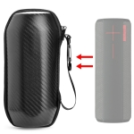 For Logitech UE kora BOOM Portable Wireless Bluetooth Speaker Carbon Fiber Protective Bag Storage Box