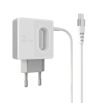 BOROFONE BA34 2.4A Jei Dual USB Port Charger Power Adapter With Micro Charging Cable,EU Plug