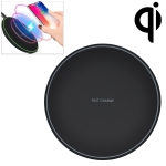 KD-1 Ultra-thin 10W Normal Charging Wireless Charger (Black)