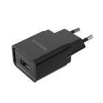 BOROFONE BA19A Nimble Single Port Charger Power Adapter, EU Plug(Black)