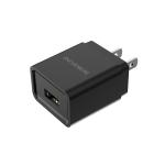 BOROFONE BA19 1A Nimble Mini Single Port Charger Power Adapter, US Plug(Black)
