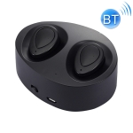 TWS-K2 Mini V4.1 Wireless Stereo Bluetooth Headset with Charging Case(Black)