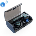 G06 TWS Noise Reduction V5.0 Wireless Stereo Bluetooth Headset with Charging Case and LED Display (Black)