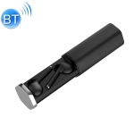 TW50 Macaron TWS V5.0 Wireless Stereo Bluetooth Headset with Charging Case, Support Smart Touch (Black)