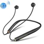 Bluetooth Headset Double Bass Torch Core 9D Surround V5.0 Neckband Headset (Black)