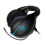 ONIKUMA K7 Single Plug Adjustable Gaming Headphone with Microphone (Black Blue)
