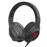 ONIKUMA K9 Single Plug RGB Adjustable Gaming Headphone with Microphone (Black)