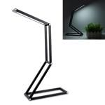 LED Desk Lamp 3W Folding Adjust USB Charging Eye Protection Table Lamp(Black)