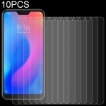 10 PCS 0.26mm 9H Surface Hardness 2.5D Curved Edge Tempered Glass Film for Xiaomi Redmi Note 6 Pro