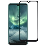 For Nokia 7.2 Full Glue Full Cover Screen Protector Tempered Glass film