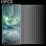 10 PCS For Nokia 7.2 2.5D Non-Full Screen Tempered Glass Film
