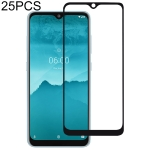 25 PCS For Nokia 6.2 Full Cover ScreenProtector Tempered Glass Film