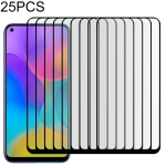 25 PCS Full Cover ScreenProtector Tempered Glass Film for Huawei Honor Play 3