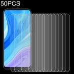 50 PCS 0.26mm 9H 2.5D Tempered Glass Film for Huawei Enjoy 10 Plus