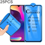 25 PCS 2.5D Full Glue Full Cover Ceramics Film for Huawei Honor 10 Lite / Honor 20 Lite / P Smart (2019)