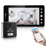 TS-MTK509 5 inch 1080P Smart Electronic Camera Eye Household Visible Doorbell, Android Version
