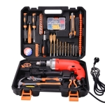 STT-044G Multifunction Household 44-Piece Industrial Grade Power Drill Toolbox Set
