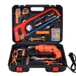 STT-052J Multifunction Household 52-Piece Household Level Power Drill Toolbox Set