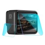PULUZ for GoPro HERO8 Black Lens + LCD Display Tempered Glass Film