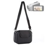 Portable Travel Case Digital Camera Bag with Strap(Black)