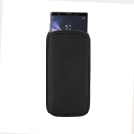 Universal Neoprene Cell Phone Bag for Galaxy Note10 / A70 / A80 and other 6.7 inch Smartphones (Black)
