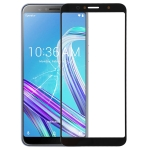 Front Screen Outer Glass Lens for Asus Zenfone Max Pro (M1) ZB601KL / ZB602KL X00TD (Black)