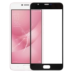 Front Screen Outer Glass Lens for Asus ZenFone 4 Max Plus ZC550TL X015D (Black)