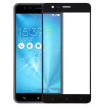 Front Screen Outer Glass Lens for Asus Zenfone 3 Zoom ZE553KL / Z01HD (Black)
