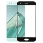 Front Screen Outer Glass Lens for Asus ZenFone 4 ZE554KL / Z01KD(Black)