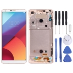 LCD Screen and Digitizer Full Assembly for LG G6 / H870 / H870DS / H872 / LS993 / VS998 / US997(Gold)