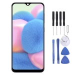 Original Super AMOLED Material LCD Screen and Digitizer Full Assembly for Galaxy A30s