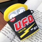 For Apple AirPods 1/2 Generation Universal UFO Fried Noodles Bluetooth Headphone Protective Case