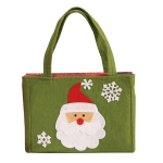 Christmas Candy Gift Bag Children Holiday Gift Bag, Style:Santa Claus