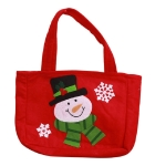 Christmas Candy Gift Bag Children Holiday Gift Bag, Style:Snowmen