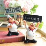Placard Chef  Newborn Babies Photography Clothing Chef Theme Set
