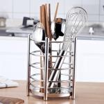 304 Stainless Steel Chopsticks Cage Drain Rack Knife Fork Storage Box Kitchen Supplies Chopsticks Box