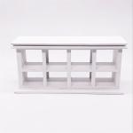 3 PCS 1:12 Mini Dollhouse Scene Decoration Cake Rack Shop Long Cabinet Shelf